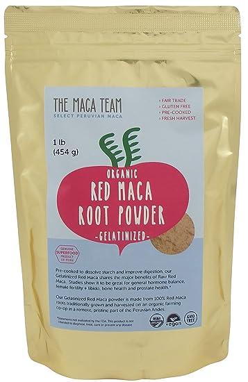 Organic Gelatinized Red Maca