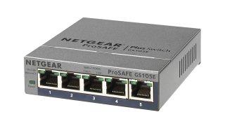 NETGEAR スイッチングハブ ギガビット5ポート/金属シャーシ/VLAN QoS IGMP/外部電源/ファンレス静音設計/省エネ/無償永久保証 GS105E-200JPS