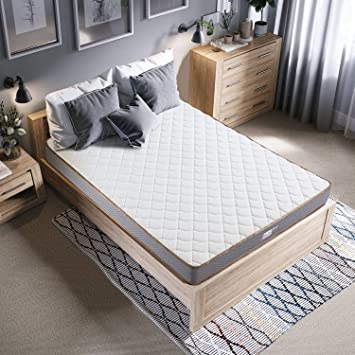 BedStory Colchon Viscoelastico Bambú 135x190CM Colchones para Cama Hotel Viscoelastica Firmeza M...