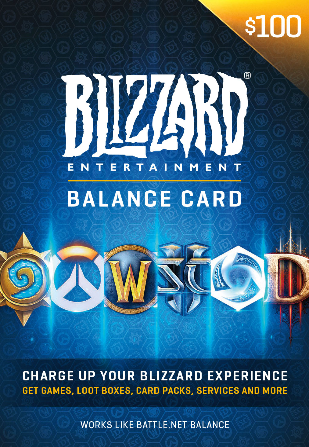 0 Battle.net Store Gift Card Balance [Online Game Code]