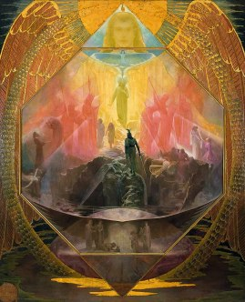 "Amazon.com: Reginald Machell The Path 1895 Theosophical Society 30"" x 24""  Fine Art Giclee Canvas Print (Unframed) Reproduction: Posters & Prints"