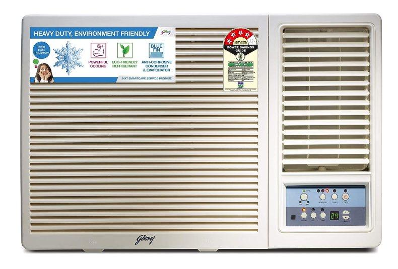 Godrej 1.5 Ton 4 Star Window AC (Copper AC 1.5T GWC 18UTC4-WTA Window White)