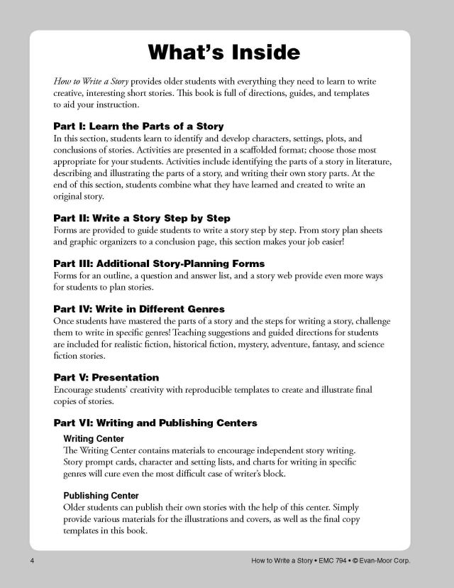 HT WRITE A STORY GRADES 17-17 TE (How to Write a Story) : Moore, Jo