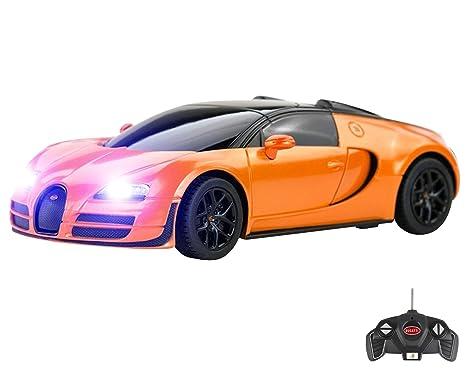Bugatti Veyron Comando Distanza Auto Per Bambini Lavorare