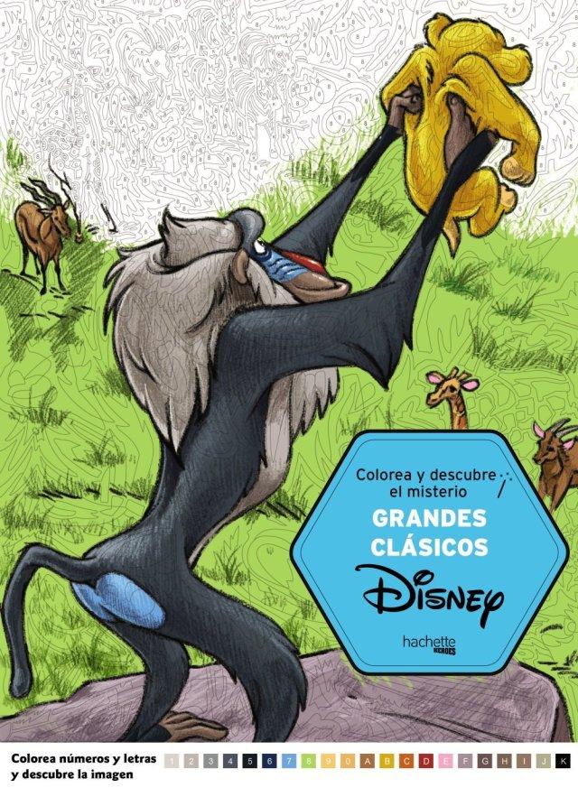 Grandes Clasicos de Disney (Hachette Heroes - Disney - Colorear