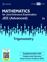 Mathematics for Joint Entrance Examination JEE Advanced ...