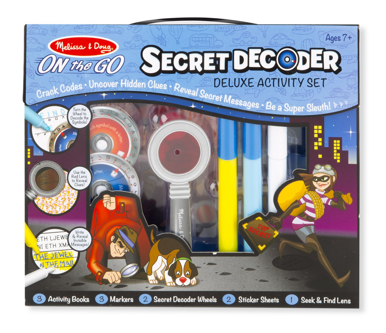 Melissa & Doug On the Go Secret Decoder Deluxe Activity