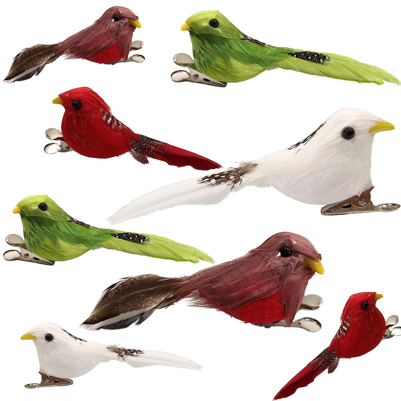 Feathered Craft Bird Figures