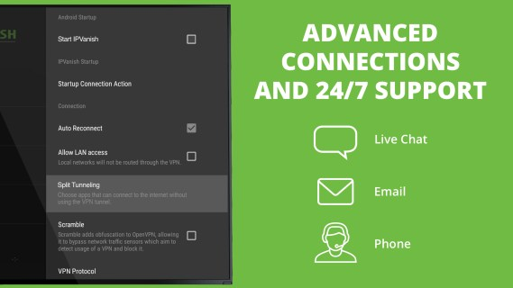 Amazon.com: IPVanish VPN: Appstore for Android