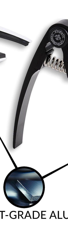 Nordic Essentials Aluminum Metal Universal Guitar Capo