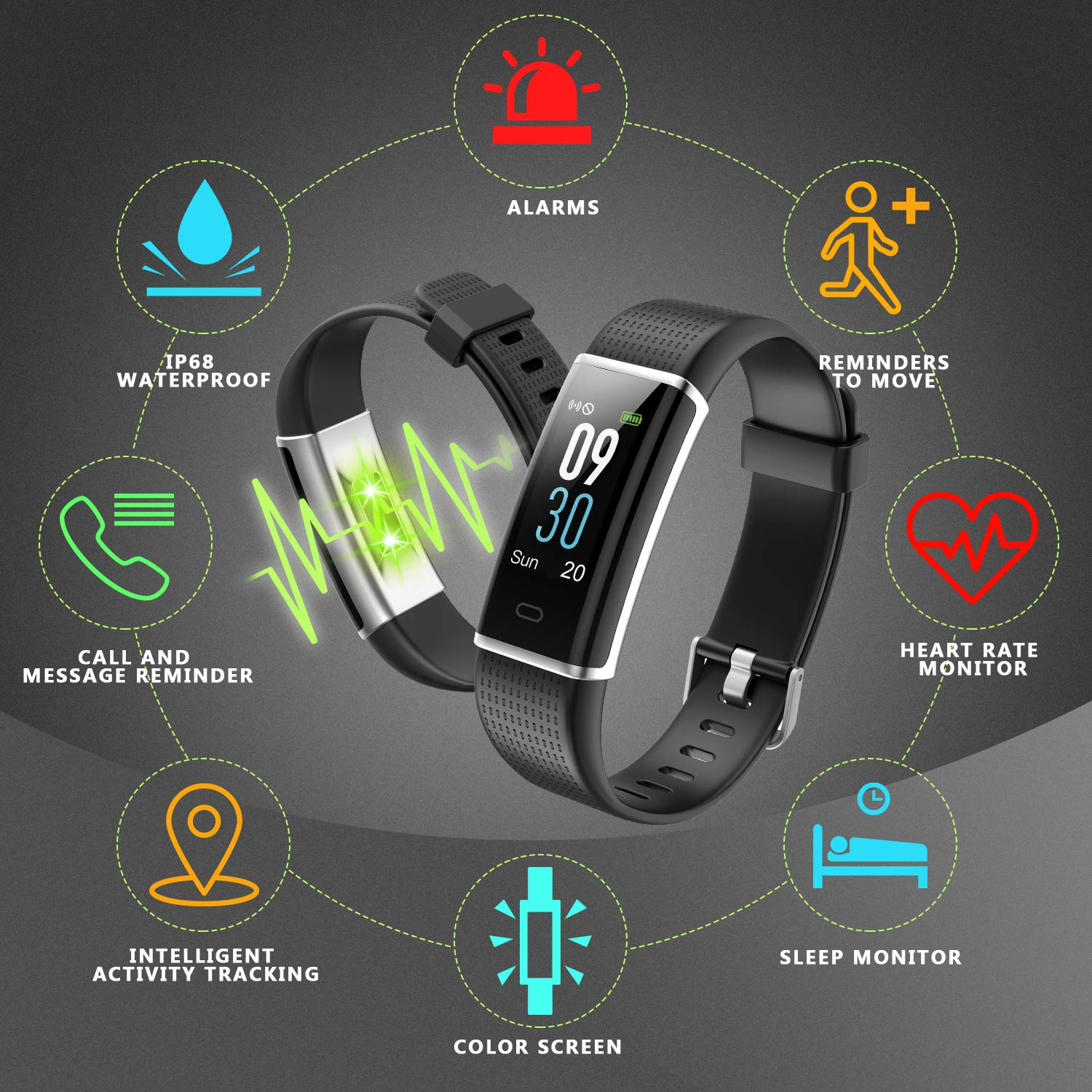 best Letscom Fitness Tracker