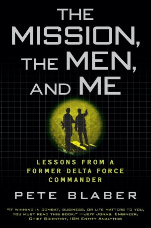 Book cover for The Mission, the Men, and Me by Pete Blaber