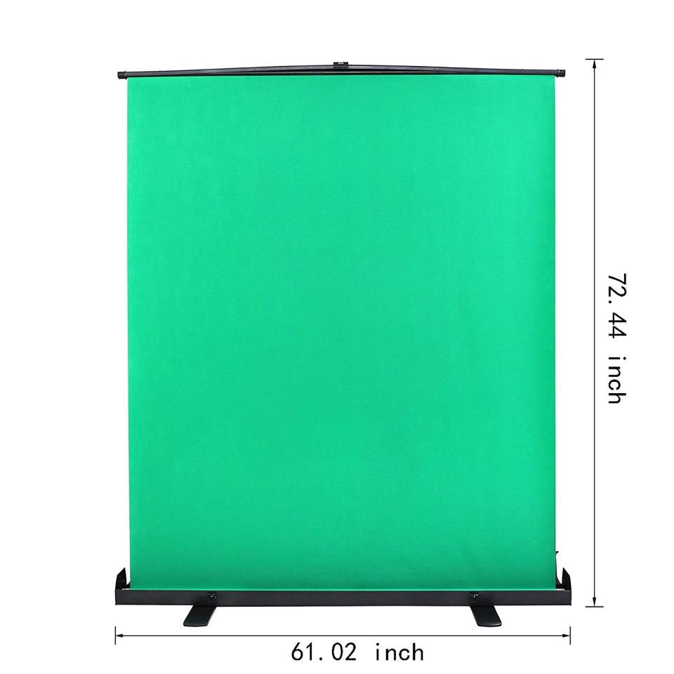 Emart Green Screen, Collapsible Chromakey Panel for Photo Backdrop