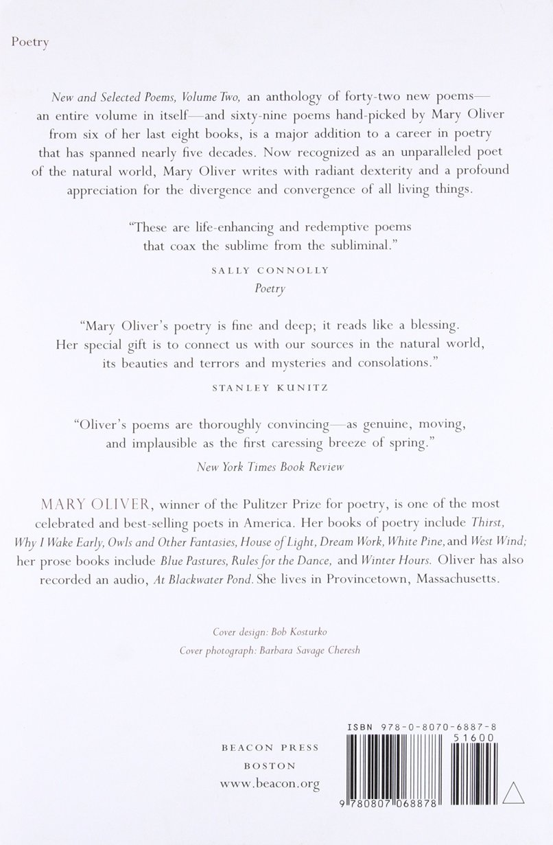 Mary Oliver New And Selected Poems 7
