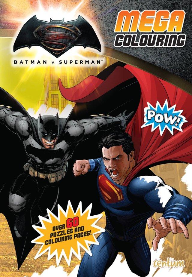 Batman V Superman Mega Colouring Book: Centum Books: 14