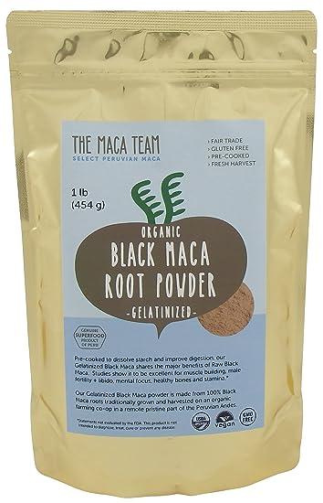 Organic Gelatinized Black Maca