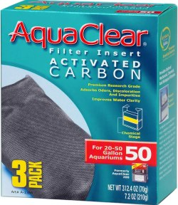 AquaClear Activated Carbon is the best chemical filter media