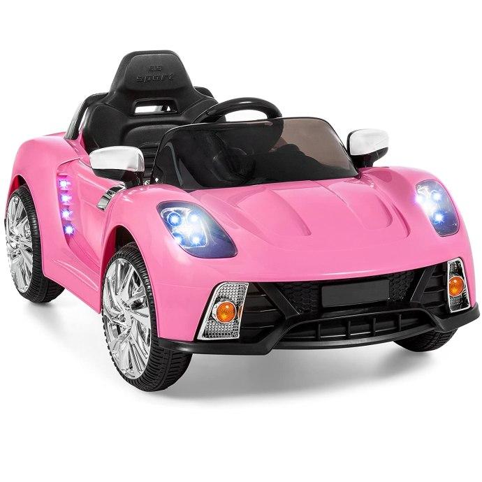 Battery Powered Remote Control Electric Ride-On Car
