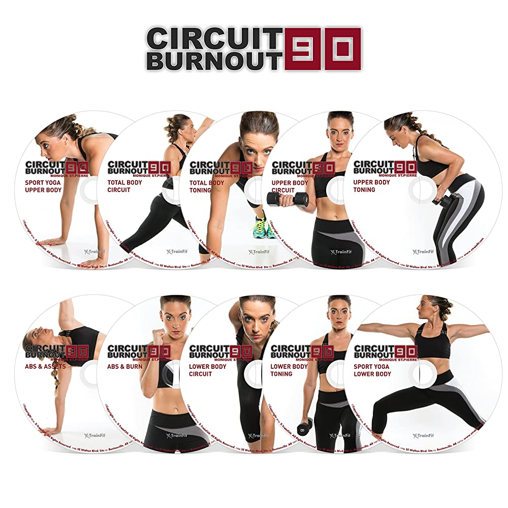CIRCUIT BURNOUT 90: 90 Day DVD Workout Program