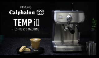 Calphalon-BVCLECMP1-Temp-iQ-Espresso-Machine-with-Steam-Wand-Stainless