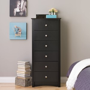 Prepac Black Sonoma Tall 6 Drawer Chest Review