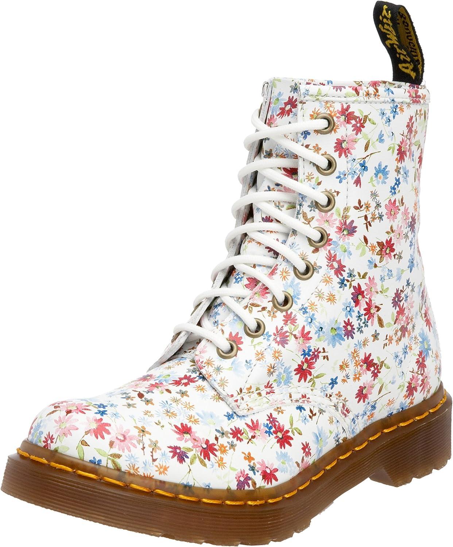 Dr. Martens Women Floral 1460 Blue 11821407 9 UK Regular: Amazon.co.uk: Shoes & Bags