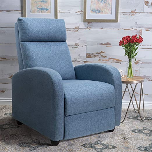 Wall-Hugger-Biscuit-Leather-Recliner-Chair