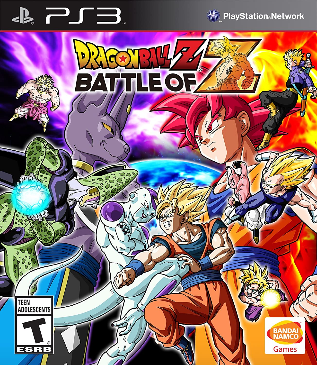 Amazon Com Dragon Ball Z Battle Of Z Playstation 3 Video Games