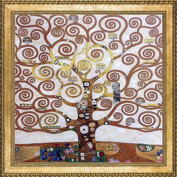 Zz1597 Wall Art Decoration Painting Gustav Klimt Big Tree: Divine, Charming And Cute Tree Of Life Wall Decor