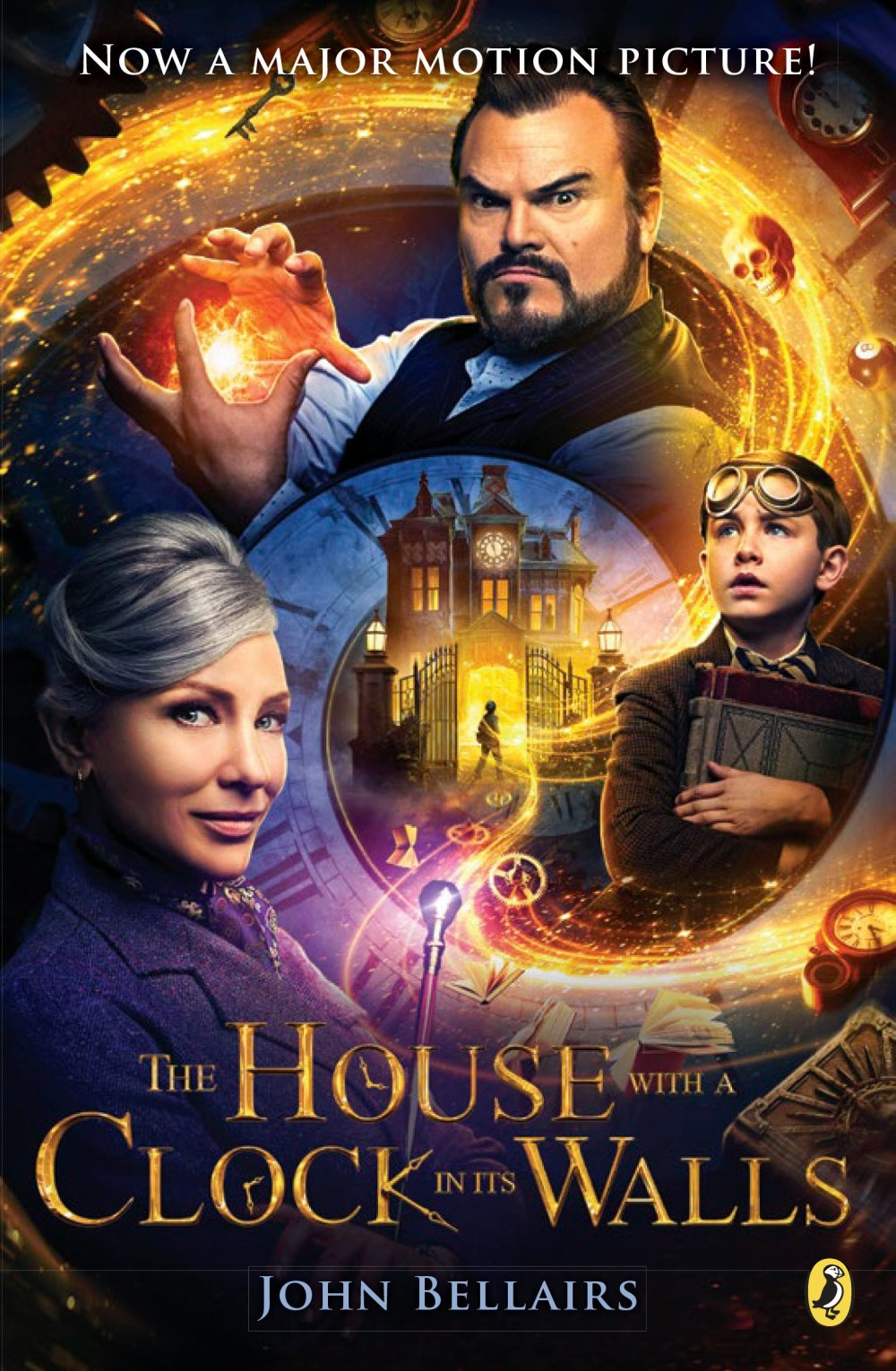 Image result for the house with the clock in its walls book