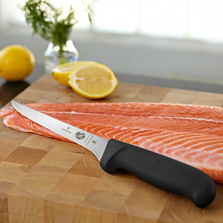 Victorinox 6-Inch Flex Boning Knife with Fibrox Handle