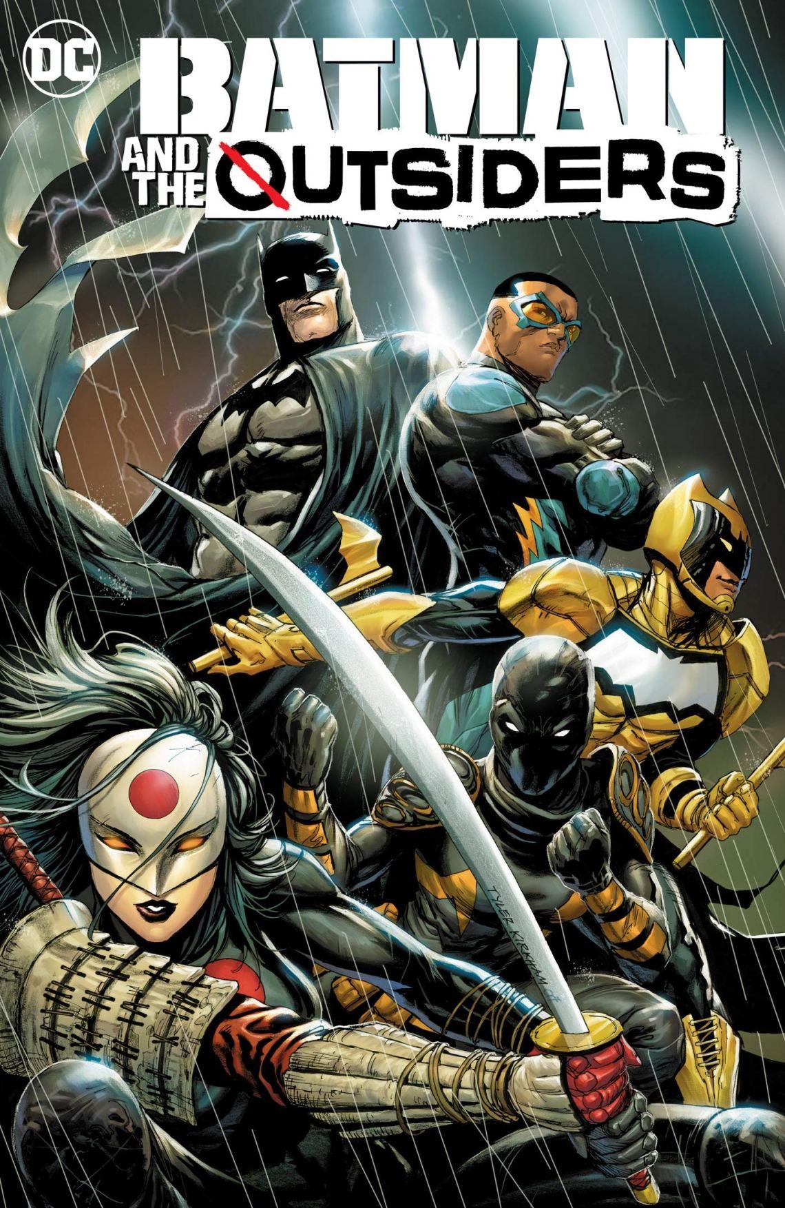Amazon.com: Batman and the Outsiders Vol. 1: Lesser Gods (9781401291785):  Hill, Bryan, Soy, Dexter: Books