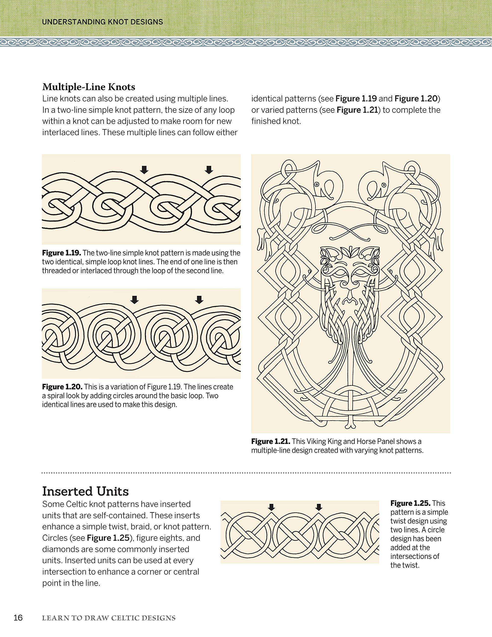 Learn To Draw Celtic Designs Exercises And Patterns For Artists And Crafters Fox Chapel Publishing Over 150 Ready To Use Patterns From Lora Irish Knots Braids Mythical Creatures More Lora S Irish 9781565238626