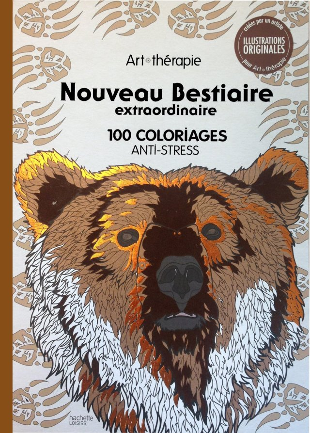 Nouveau Bestiaire extraordinaire: 22 coloriages anti-stress