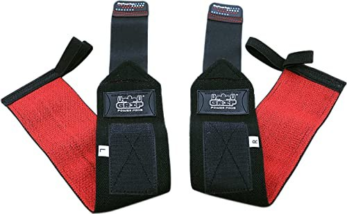 Deluxe Wrist Wraps by Grip Power Pads