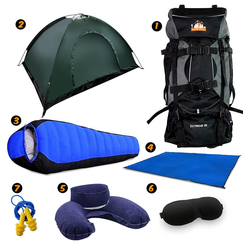 Gear kit for camping