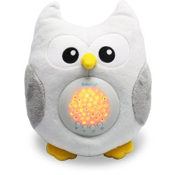 Bubzi Co Baby Sleep Aid Night Light & Shusher Sound Machine