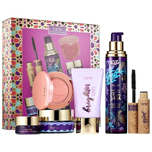 six-piece travel set of tarte's most covetable color & skincare faves, pamper yourself
