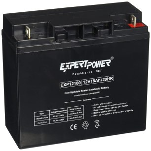 ExpertPower EXP12180-2 Standard RBC7 Replacement Rechargeable SLA Battery