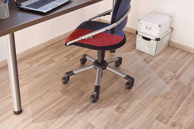 Silla de escritorio con protector de suelo