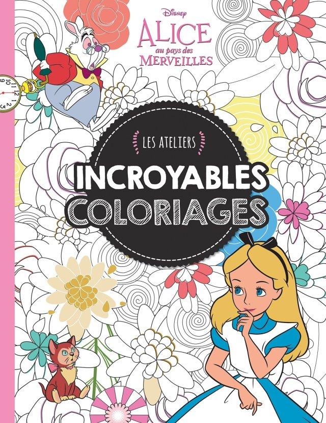 Amazon.in: Buy Alice 28, incroyables coloriages, ateliers disney