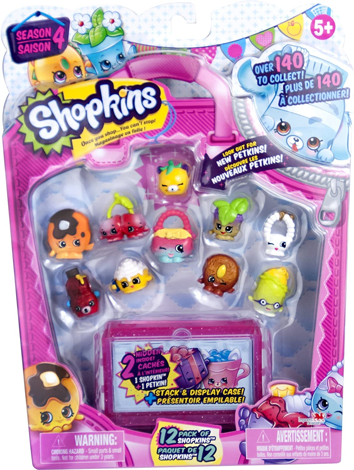 Amazon Com Shopkins Season 4 12 Pack Toys Games