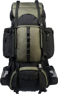 Hiking backpack with hundreds of verified 5-star reviews testifying to the quality and design