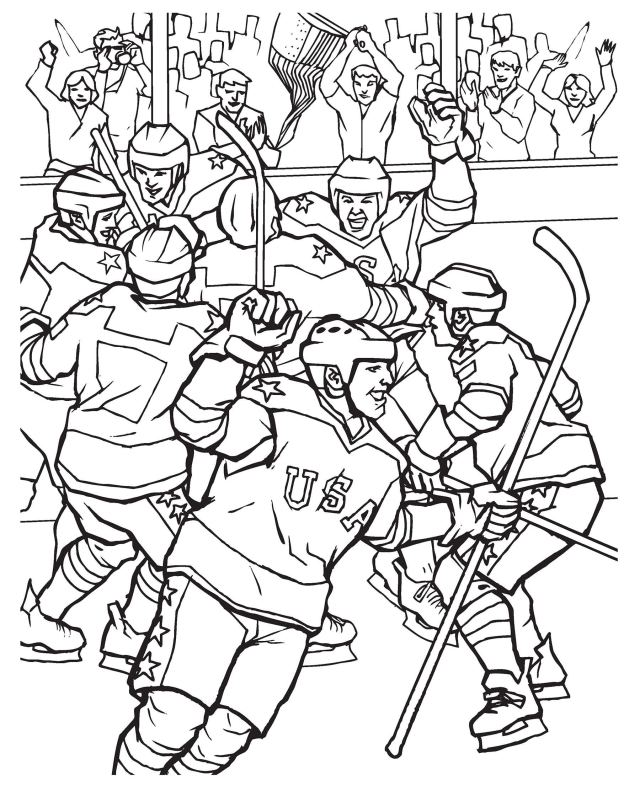 GOAL! The Hockey Coloring Book (Dover Coloring Books): Roytman
