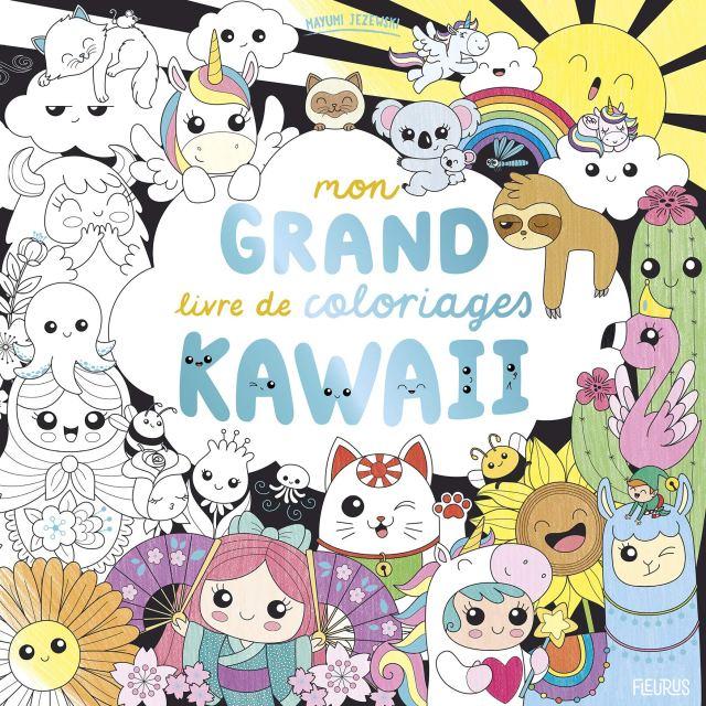 Mon grand livre de coloriages kawaii : Jezewski, Mayumi: Amazon.de