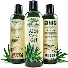 Green Leaf Naturals Aloe Vera Gel for Skin
