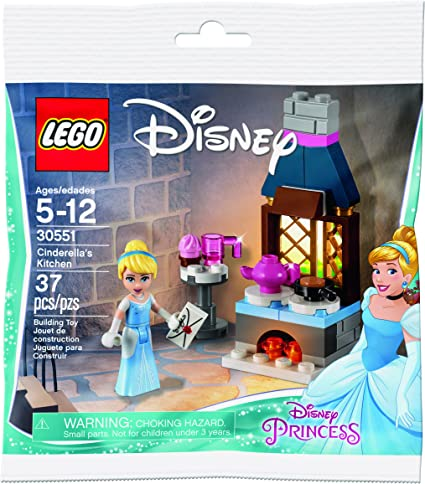 Amazon Com Lego Disney Princess Cinderella S Kitchen 30551 Toys Games