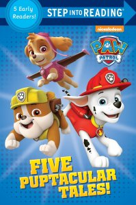 Amazon.com: Five Puptacular Tales! (PAW Patrol) (Step into Reading ...