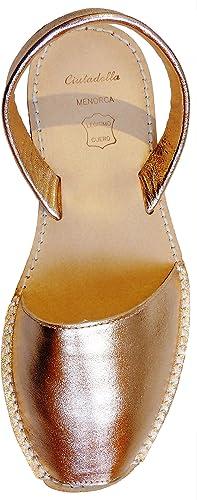 Avarcas menorquínas con tacón/cuña de 4,8 cm,