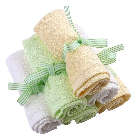 Le Petit Bamboo Baby washcloth
